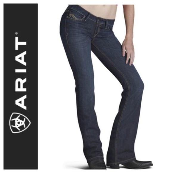8fa1ccd9f1ea3 Ariat Jeans | Ruby Low Waist Slim Sexy Bootcut Jean | Poshmark